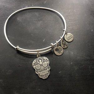 Alex and Ani Skull Bracelet